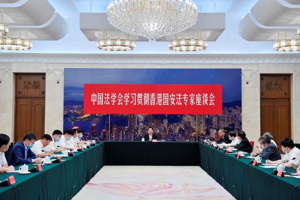 王晨:推动香港国安法有效实施 坚决维护国家安全和香港长治久安
